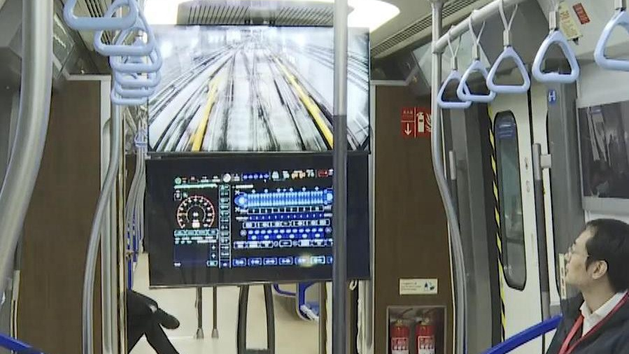 China successfully tests autonomous train operation system