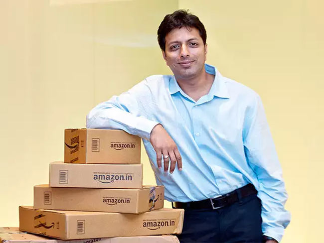 Amit Agarwal, covid, Ecommerce, Customers, Amazon India, may still remain muted, volume growth was down 11%