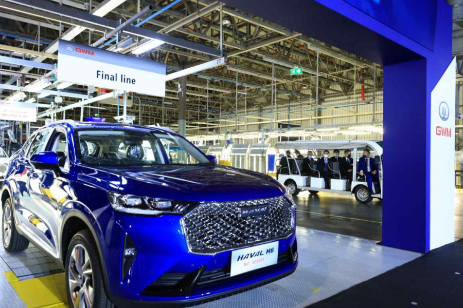 Chinese and other big business bet on Thai electric car market