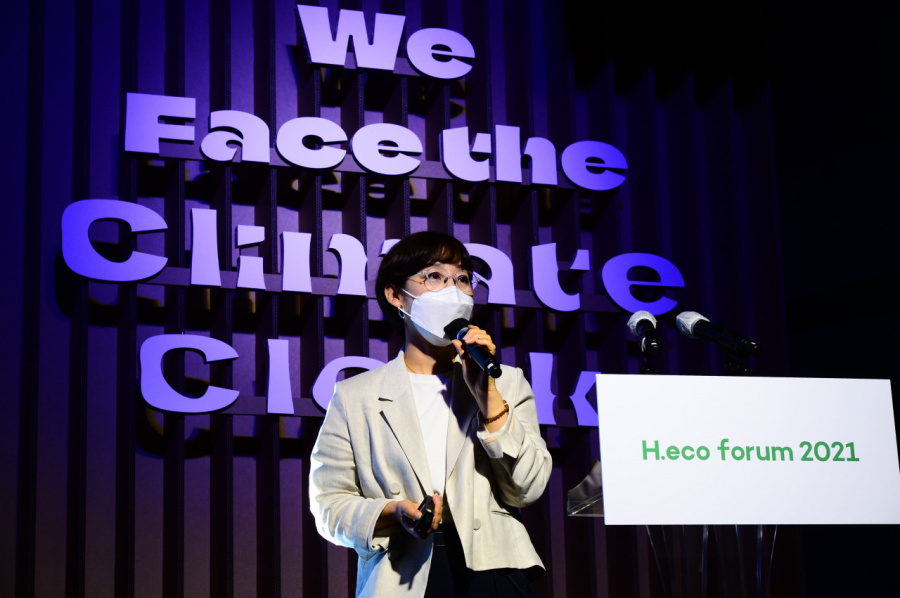 [#WeFACE] RE100, Orsted, Amorepacific chiefs say green transition is a matter of will