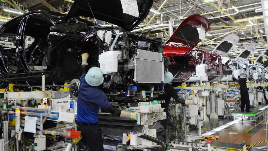 Toyota speeds up carbon-zero target for factories to 2035