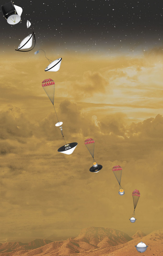 spacecraft has lasted,  past potential for habitability,  future mission to land on Venus, expected to launch, EnVision, Lisa Grossman