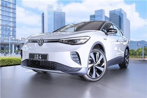 Hankook Tire supplies tires for Volkswagen's all-electric ID.4 SUV