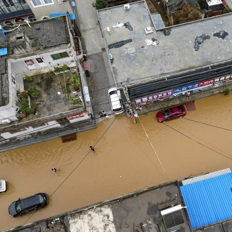 As floods hit Henan province, investors get respite with stocks spared from major sell-off