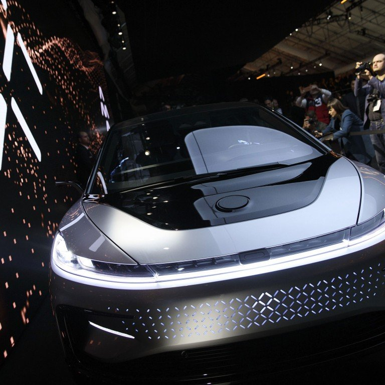 Faraday Future, debt-ridden carmaker, special purpose acquisition company (SPAC), fallen Chinese tycoon Jia Yueting, The luxury car