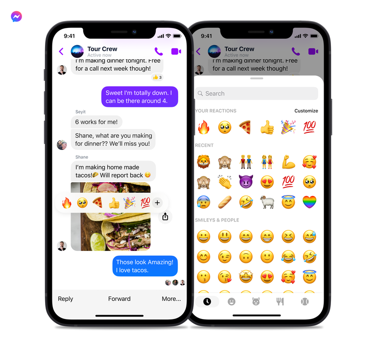 new features for Messenger, our review here, a week ago