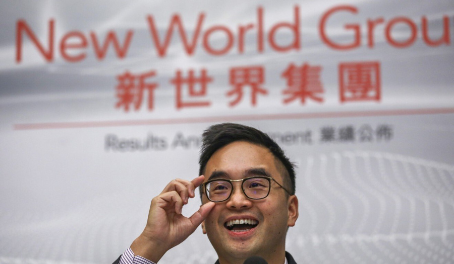 New World Development, Greater Bay Area, is the company's executive chairman