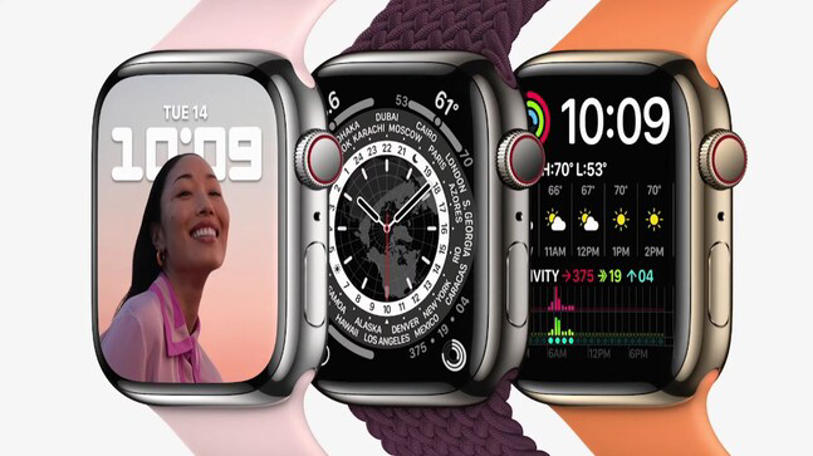 apple watch series 7 with larger retina display, fast charging launched