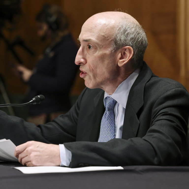 news, china, us-listed chinese stocks, us-china relations, joe biden's china policy, financial regulation, ipo, chinese firms should face faster us stock delisting over audit rules, sec chairman gary gensler tells lawmakers