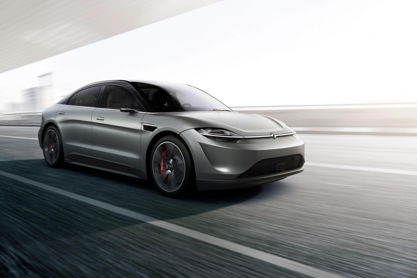 sony still hasn't decided whether to build its electric vision-s sedan