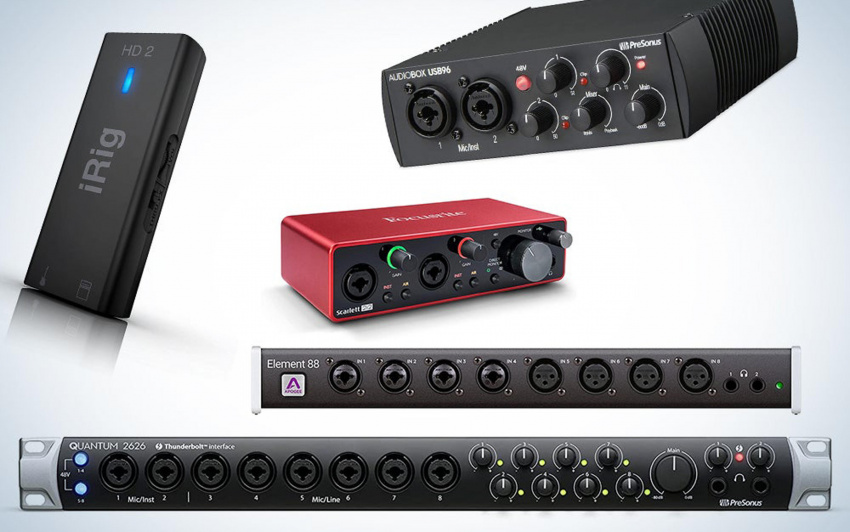 the best audio interfaces get your gear and creativity in sync