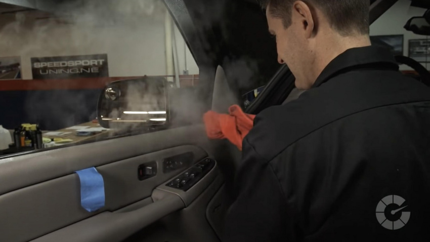 how to effectively clean car interior plastic, and everything you'll need for the job