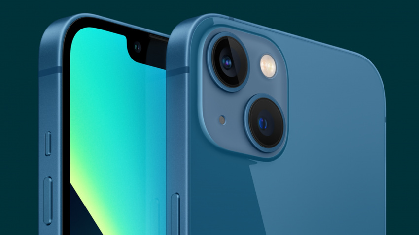 iphone 13 looks snazzy in new sierra blue color with a smaller notch and more design tweaks