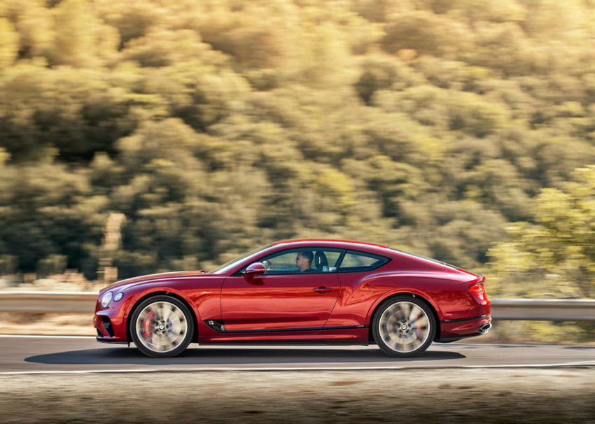 2022 bentley continental gt speed first drive review: power and precision
