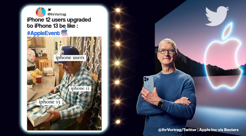 as apple unveils its iphone 13 series, netizens ask: what's new?