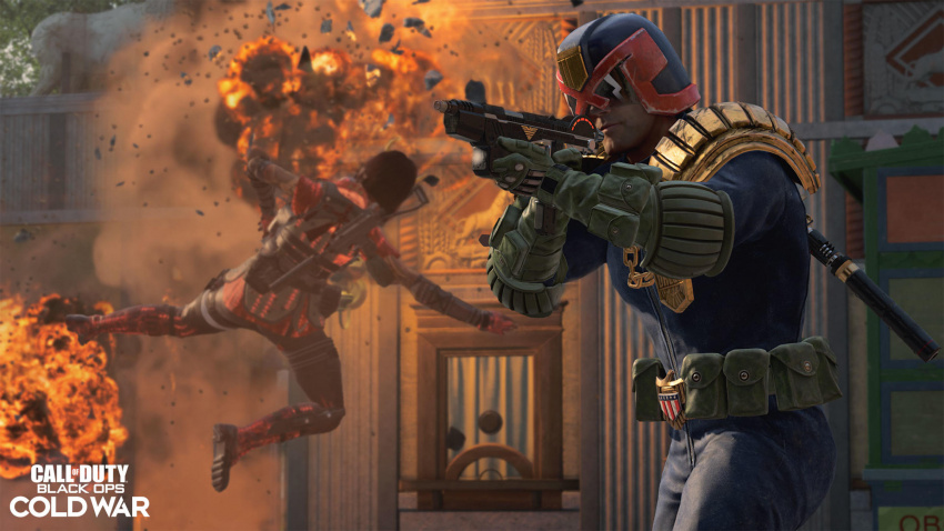 call of duty: warzone judge dredd crossover brings the law to verdansk