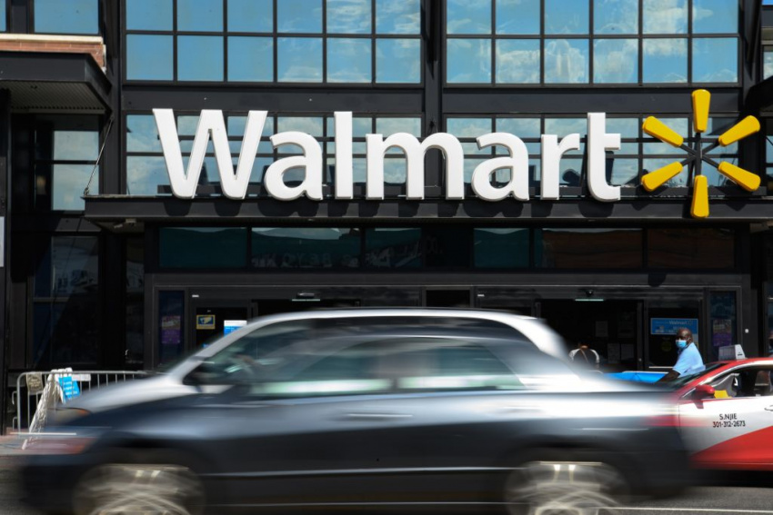 walmart, ford, robo-delivery