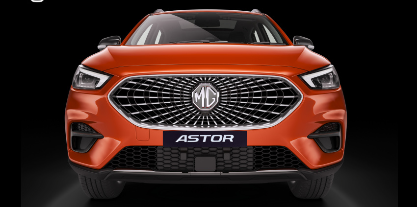 mg astor india unveil live updates: reveal event begins, features, engine options and other details expected