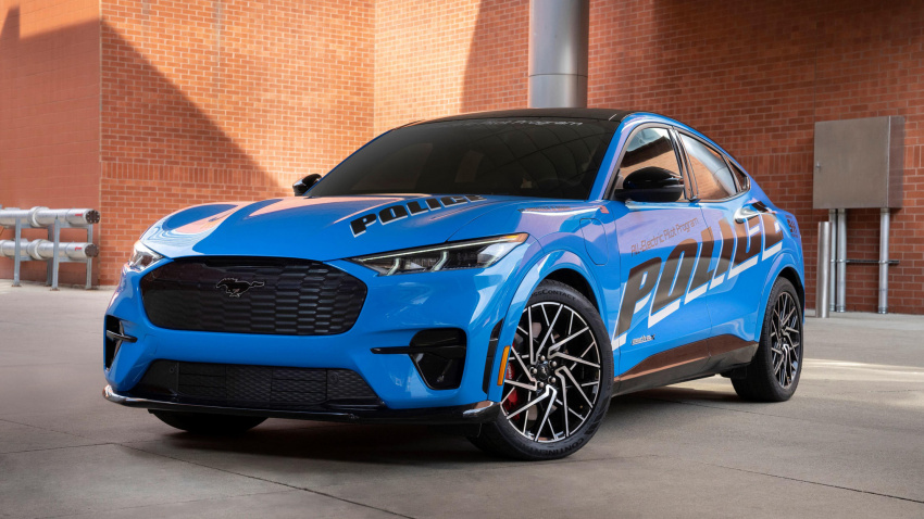 ford creates mustang mach-e gt police interceptor for michigan state police