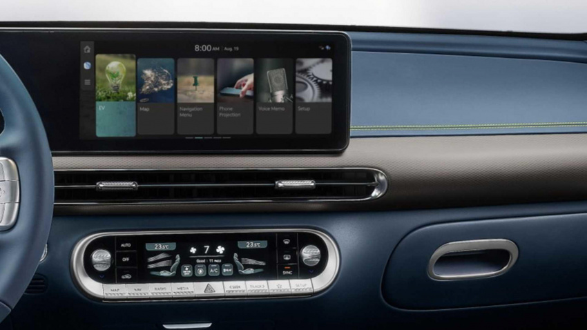 genesis gv60 will recognise your face to unlock the car
