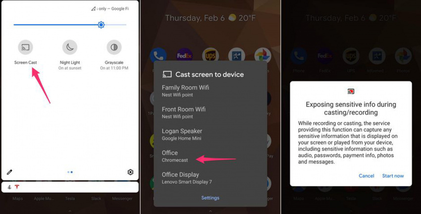 it's easy to mirror or cast your android phone to your tv. here's how