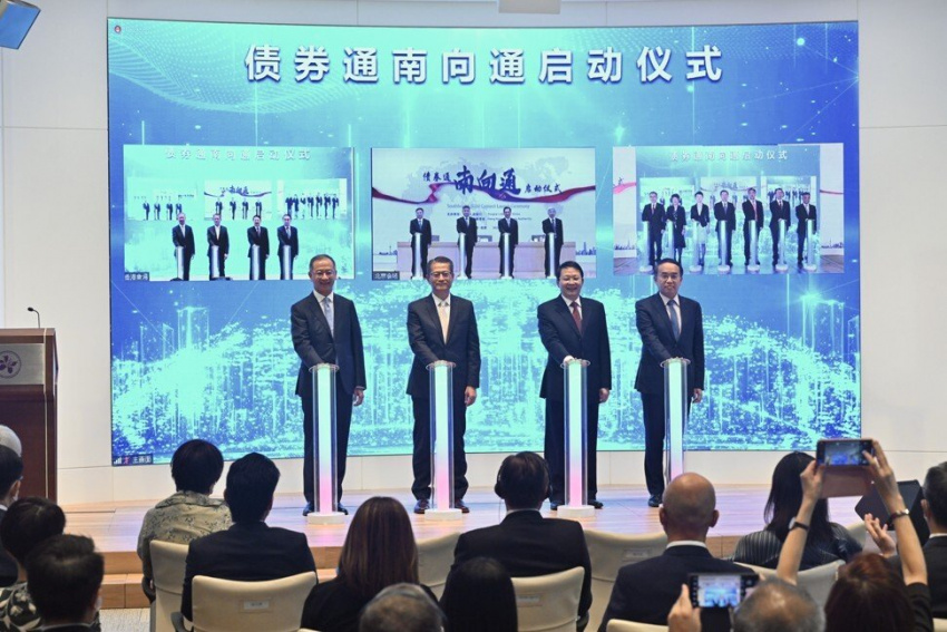business, banking & finance, banking & finance, bonds, green bonds, hsbc, standard chartered bank, hong kong monetary authority (hkma), bank of china among five lenders to complete deals as southbound bond connect debuts
