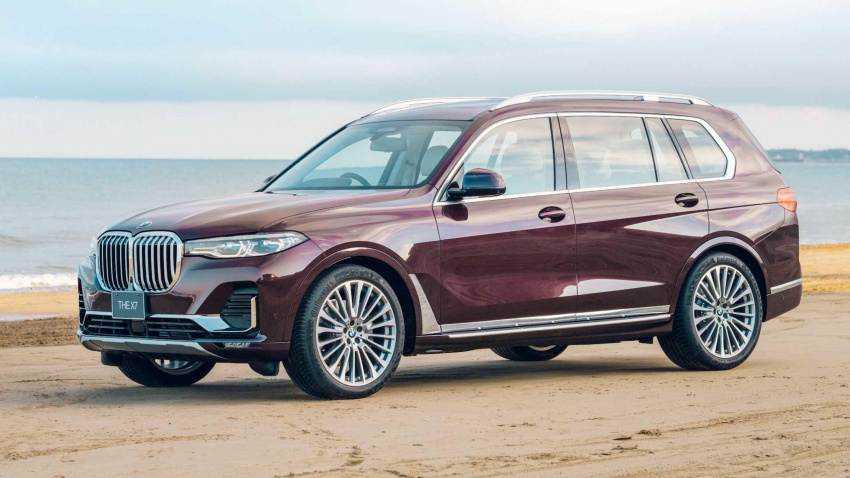 bmw x7 nishijin edition for japan is limited to only three cars