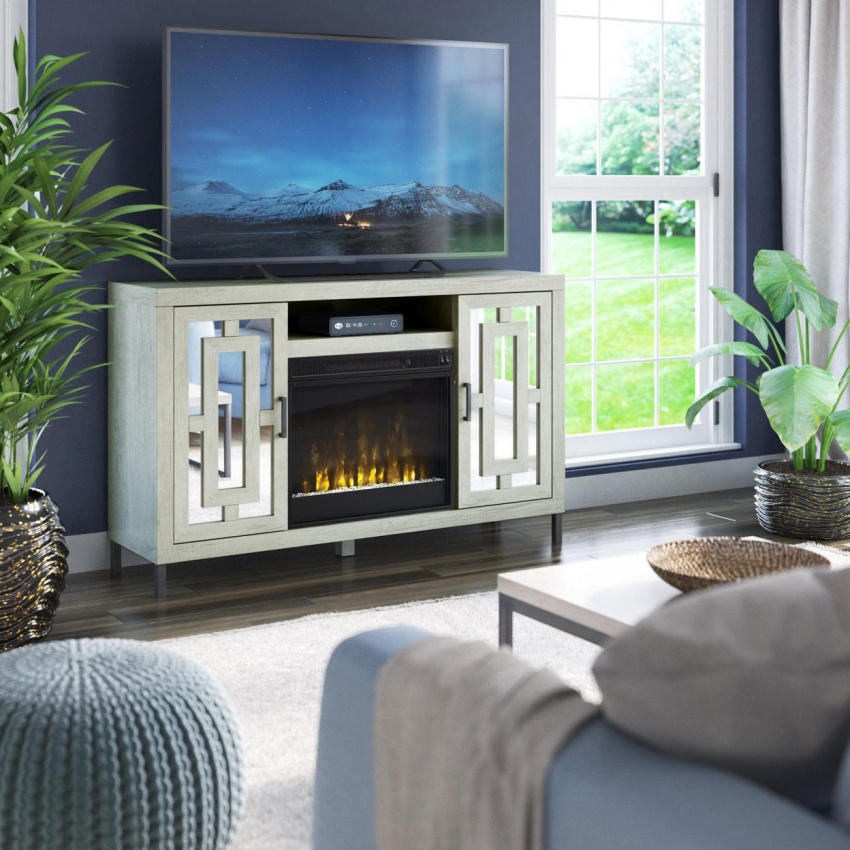 these top-rated fireplace tv stands will keep you cozy and entertained all winter