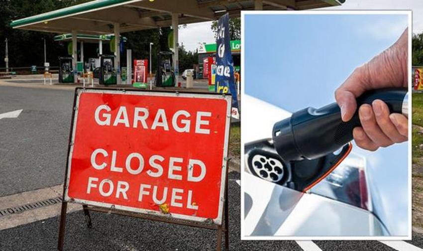 petrol shortage uk: empty pumps prompt 'massive hike' in searches for electric vehicles