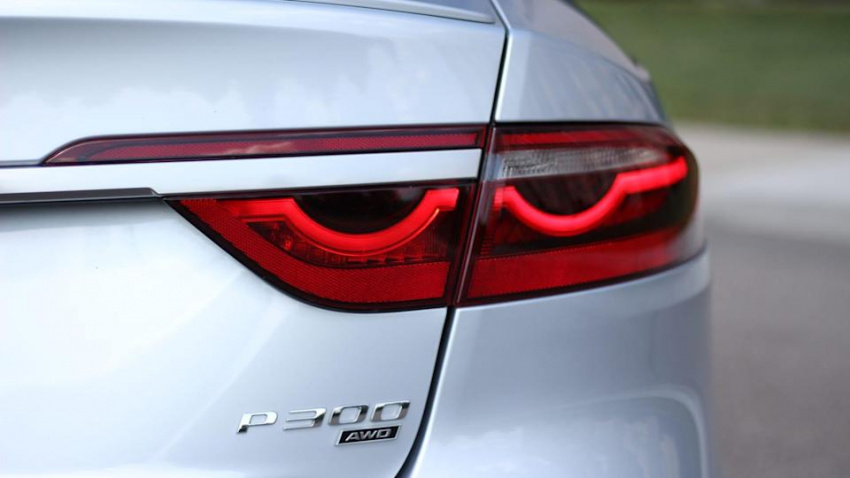 2021 jaguar xf p300 road test | still in the game, but now in another league