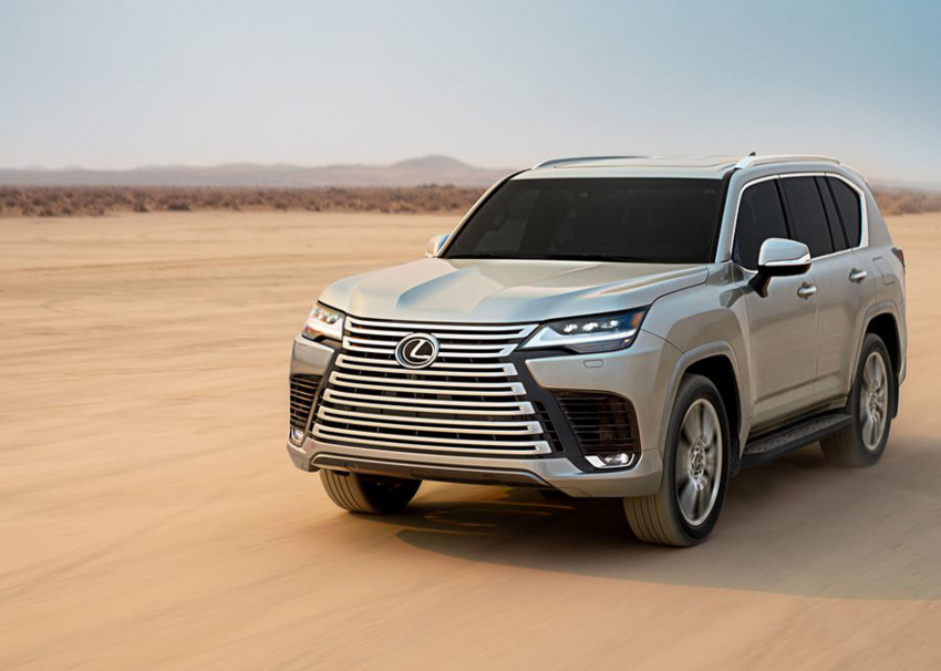 2022 lexus lx 600 debuts as an off-road-ready, super luxe flagship suv