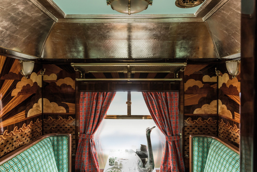 magazines, style, news & trends, luxury travel, cinema, fame and celebrity, american films, luxury spend it, luxury hotels, travel news and advice, how wes anderson reimagined a british pullman luxury train: the french dispatch director gave belmond's carriages a typically whimsical makeover