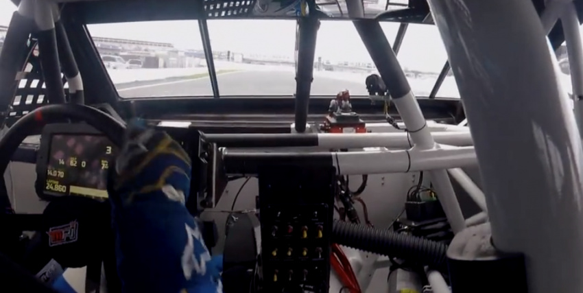 watch nascar's next gen cars in action from behind the wheel