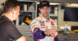 denny hamlin tackles texas with designs on keeping playoff pressure low