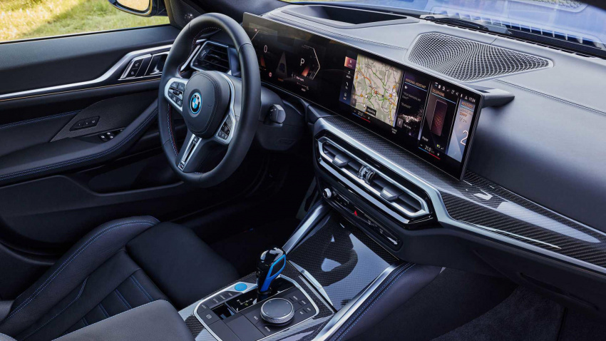 2022 bmw i4 m50 first drive review: surprisingly good