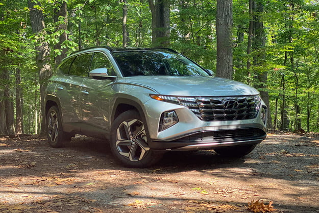 2022 hyundai tucson hybrid limited awd review: extra power and efficiency