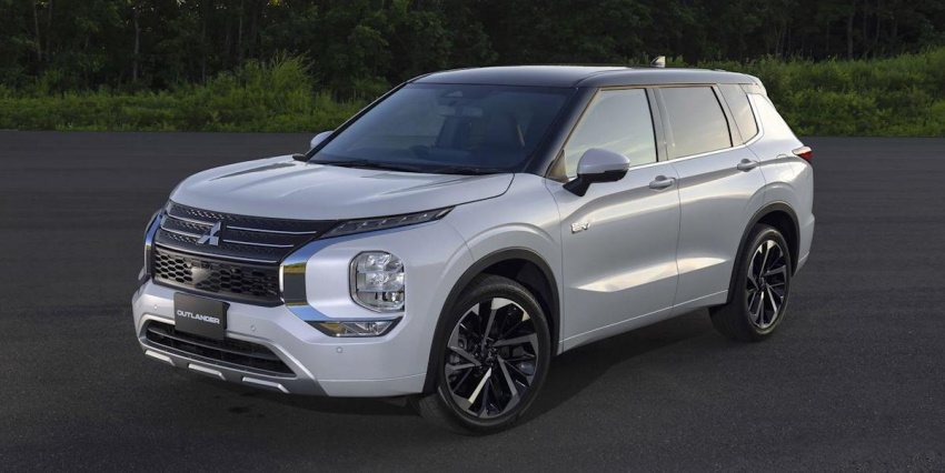 view photos of the 2023 mitsubishi outlander plug-in hybrid