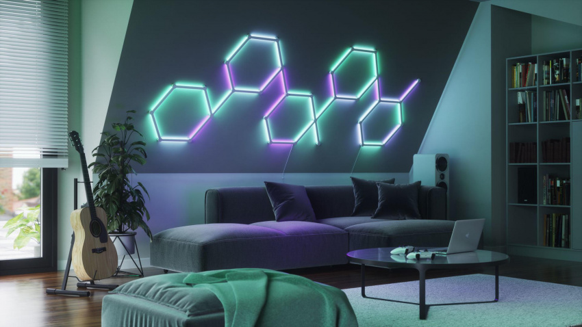 nanoleaf's latest smart lights are more nightclub than ever