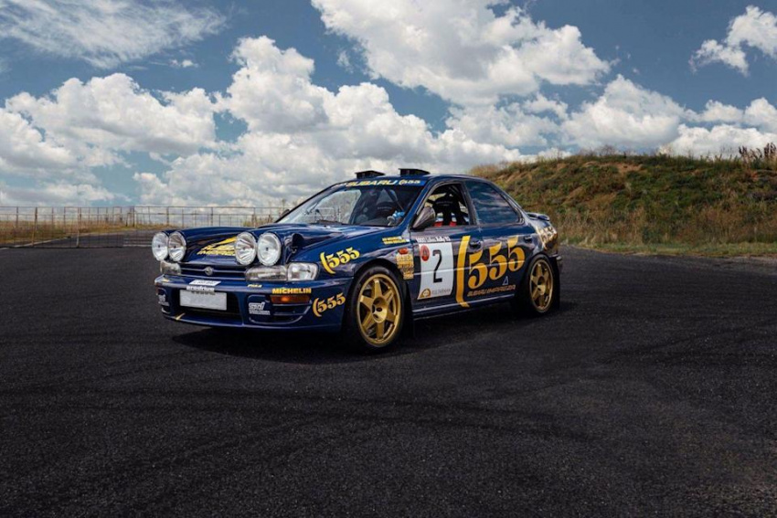 the first subaru impreza to score wrc points is for sale