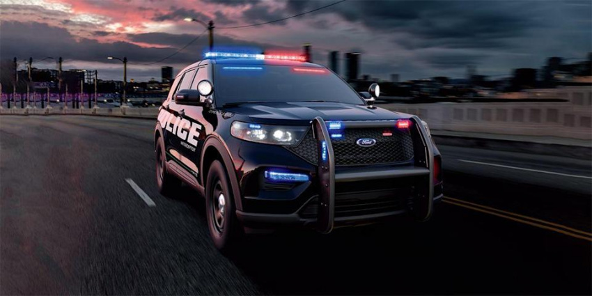 ford explorer remains quickest police car sold today, for now