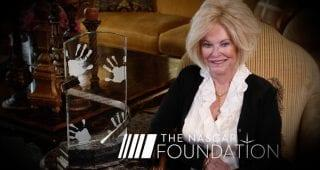 the nascar foundation reveals four finalists for betty jane france humanitarian award