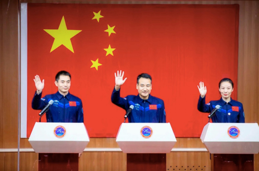 china's second space station crew will launch friday and you can watch it live